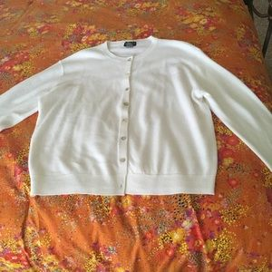 Sweaters - Large button down sweater